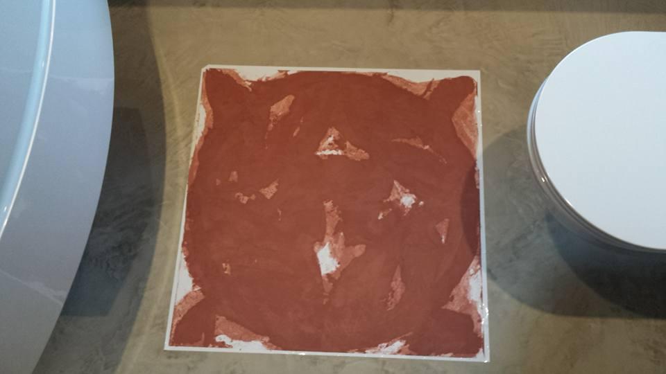 Renovatie badkamer beal mortex afronden patroon