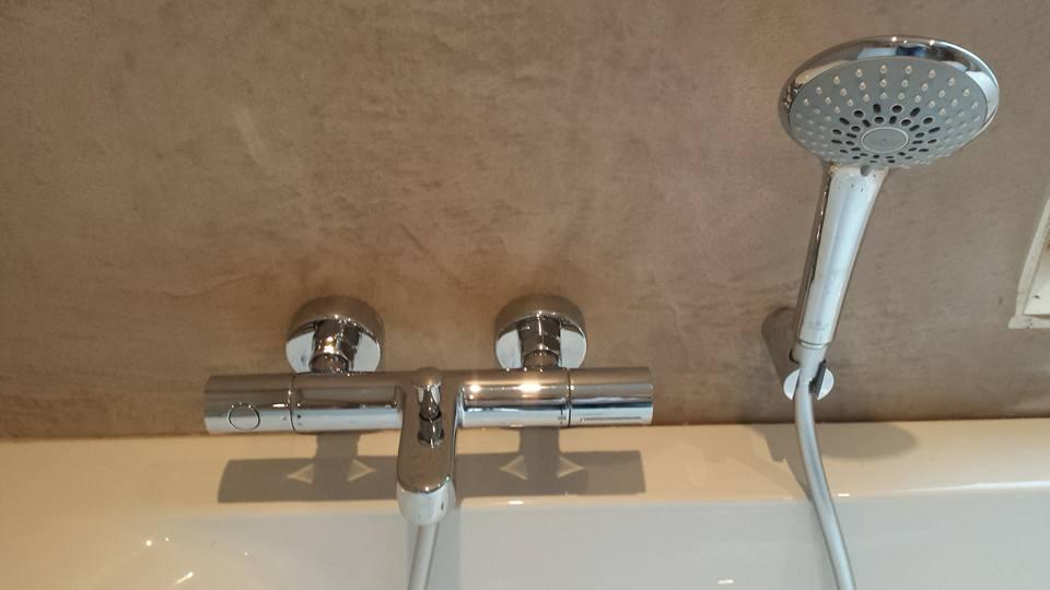 Beal Mortex Badkamer : Renovatie badkamer met beal mortex de stukadoor looy