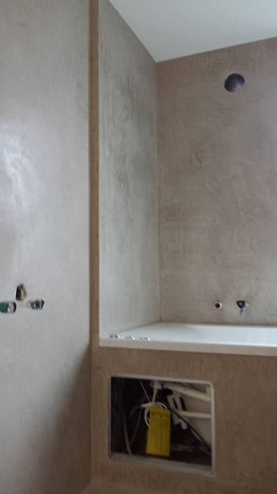 Renovatie badkamer met Beal Mortex - De Stukadoor Looy